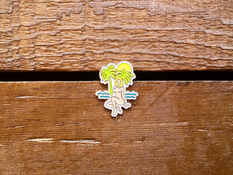 "Good Worth ""Tropics"" Pin"