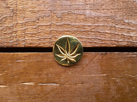 "Good Worth ""Weed"" Pin"