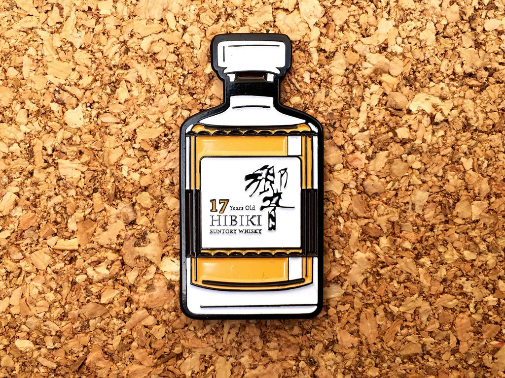 "BOWLS ""Japanese Whiskey"" Pin"