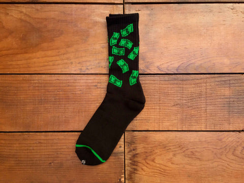 "HUF ""Make it Rain"" Socks"