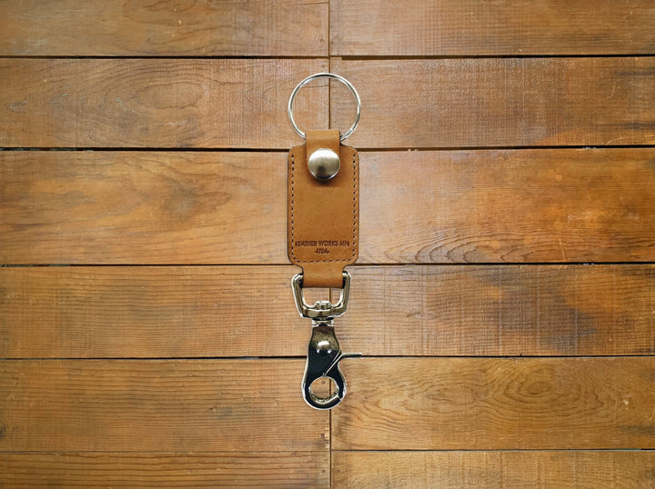 "Leather Works MN ""Rein"" Key Clip"