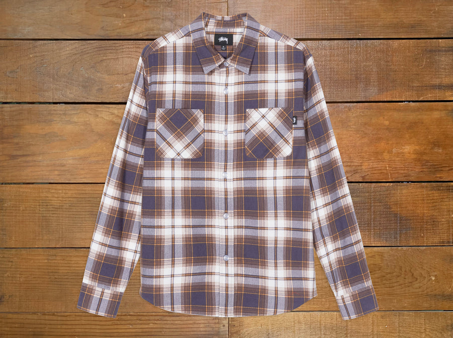 "Stussy ""Adam"" Plaid Shirt"