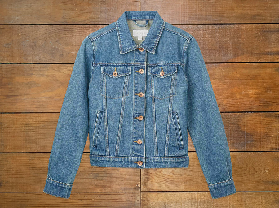 "Brixton Women's ""Broadway"" Denim Jacket"