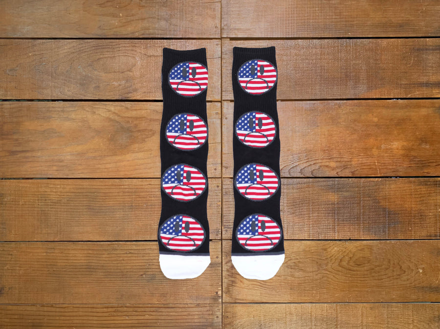 "HUF ""Bummer USA"" Socks"