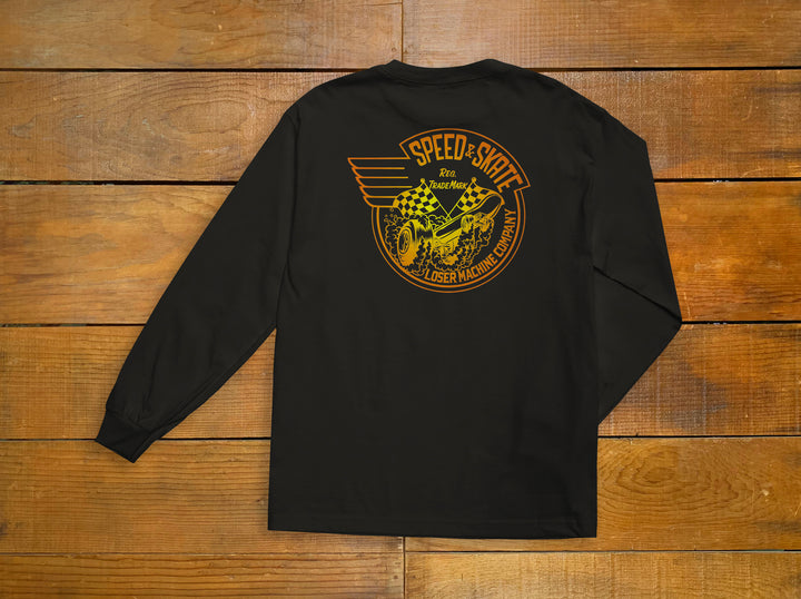 "Loser Machine ""Burnout"" Long Sleeve Tee"