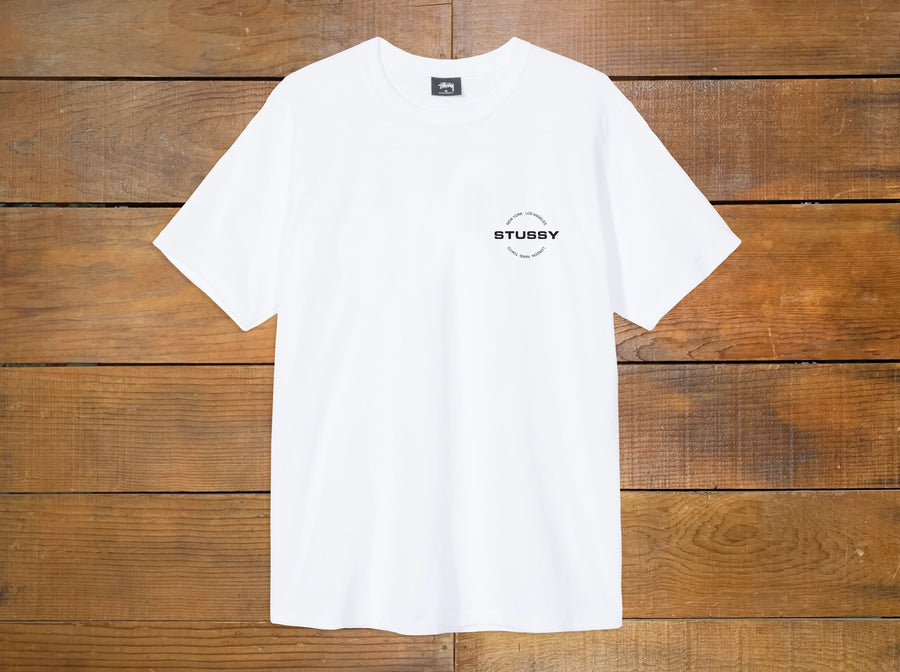 "Stussy ""City Circle"" Tee"