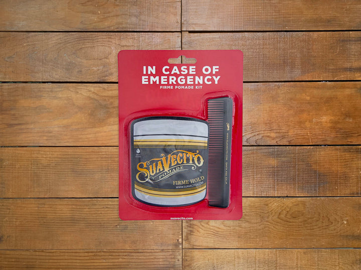 Suavecito In Case of Emergency Firme Kit