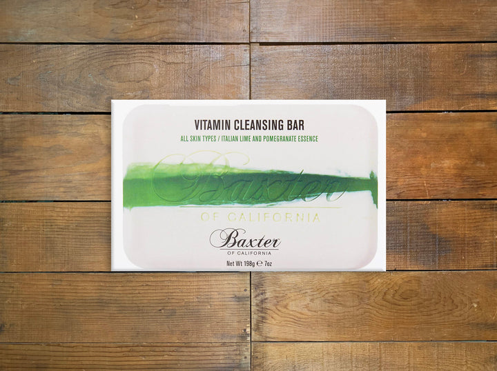 "Baxter of California ""Vitamin Cleansing Bar"" Italian Lime Strip Bar"