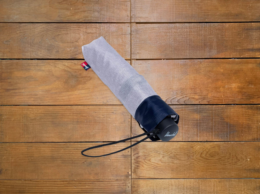 "Herschel Supply Co. ""Triple Stage"" Collapsible Umbrella"