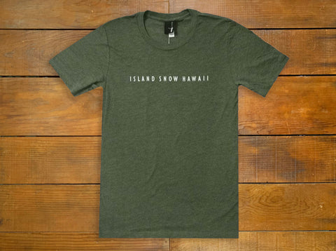 "Island Snow ""Summit"" Tee"