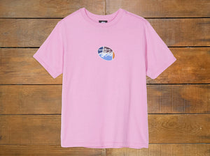 "Stussy Women's ""Quarter Oval Stock Tee"""