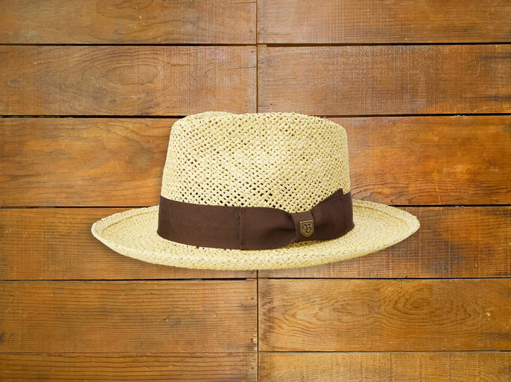 "Brixton ""Swindle"" Straw Fedora"