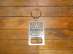 "Uppercut Deluxe ""10yr Anniversary"" Limited Key Ring"