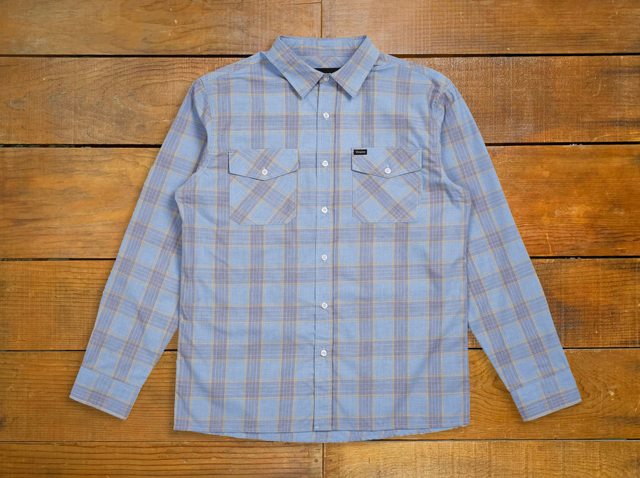 "Brixton ""Wager"" L/S Button Up"