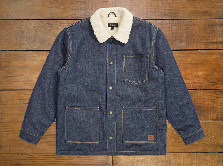 "Brixton ""Yard"" Sherpa Denim Jacket"