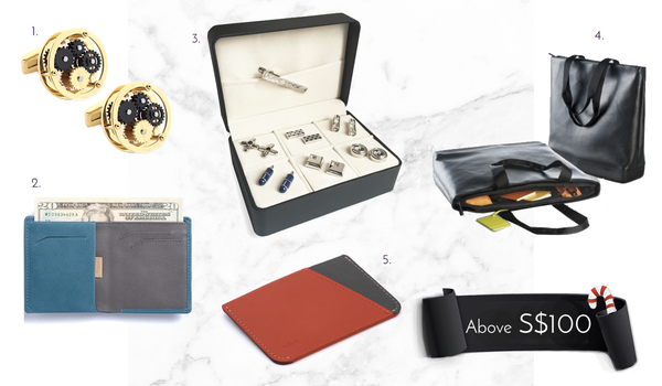 Men's Cufflinks and Accessories Above 100