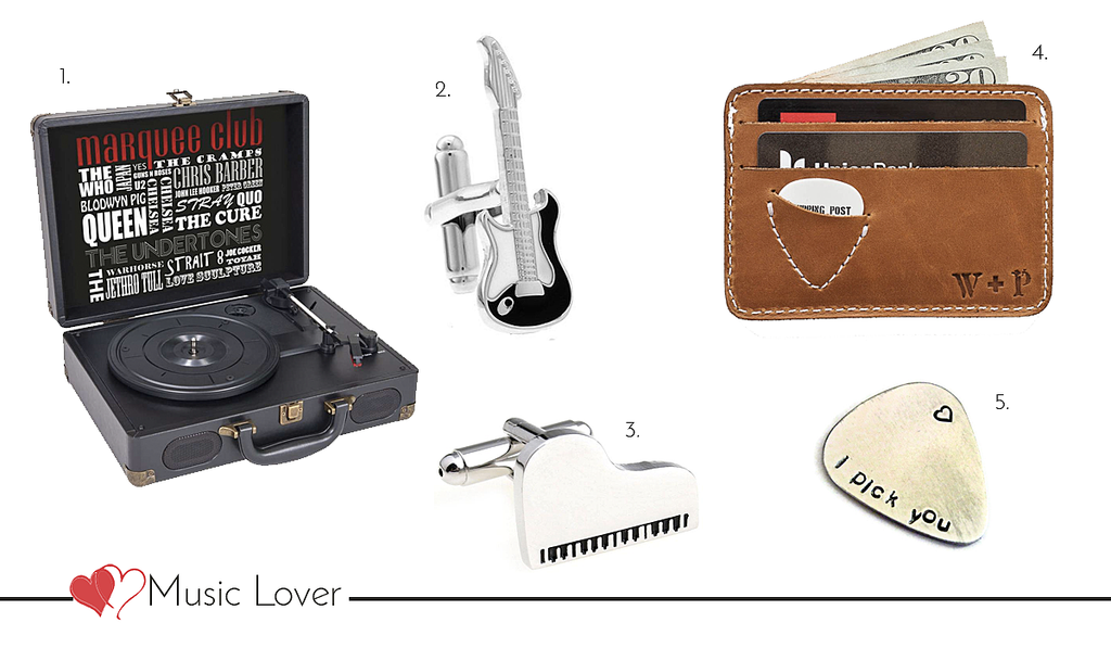 Valentine's day gifts for him - The music lover