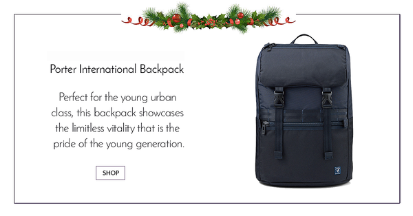 Porter International Black Youngster Backpack