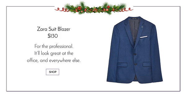 Blue Zara Suit Blazer