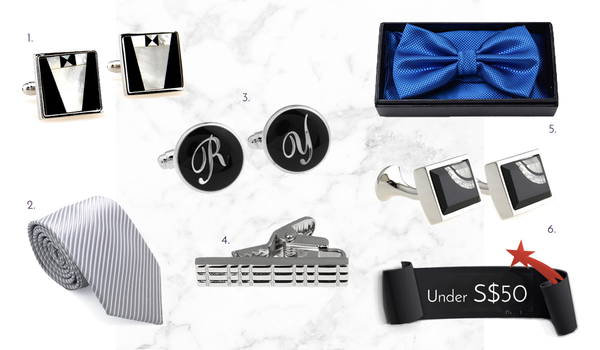 Men's Cufflinks and Accessories Under 50