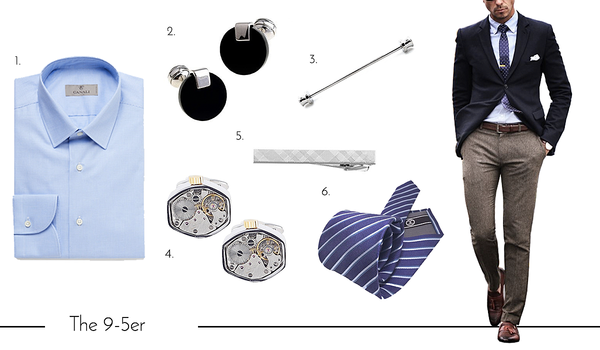 Cufflinks and Accessories for the Working Dad