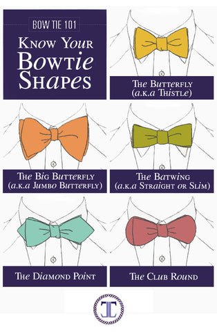 bow tie shapes