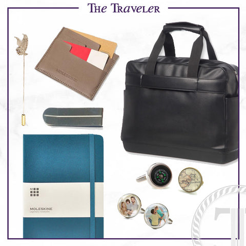 Men's Cufflinks and Accessories for the Traveler Dad