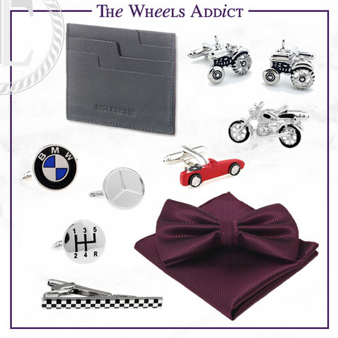 Men's Cufflinks and Accessories for the Automobile Fan Dad