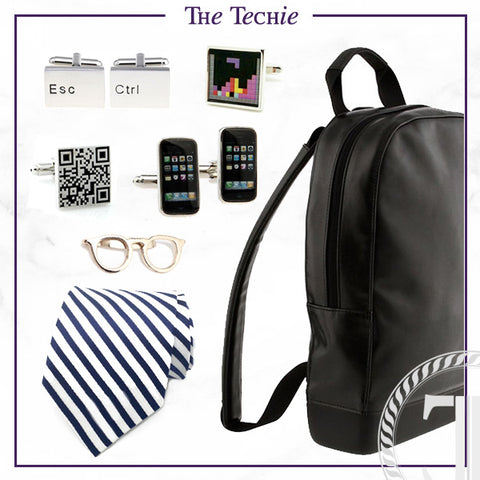 Men's Cufflinks and Accessories for the Techie Dad
