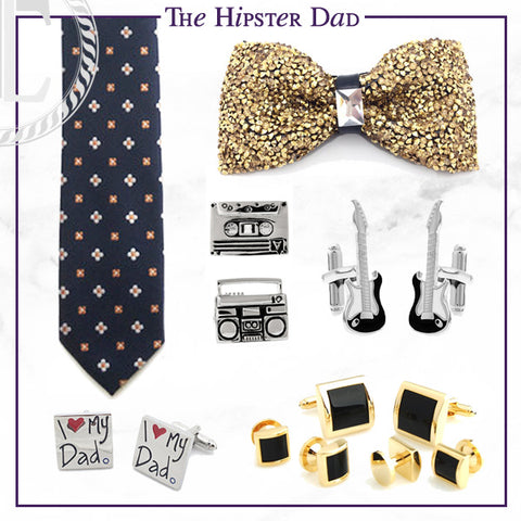 Men's Cufflinks and Accessories for the Hipster Dad