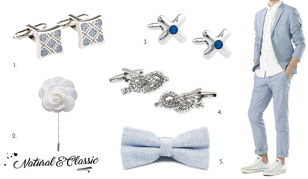 The Little Link Classic Cufflinks and Accessories