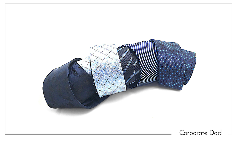Necktie for the Corporate Dad