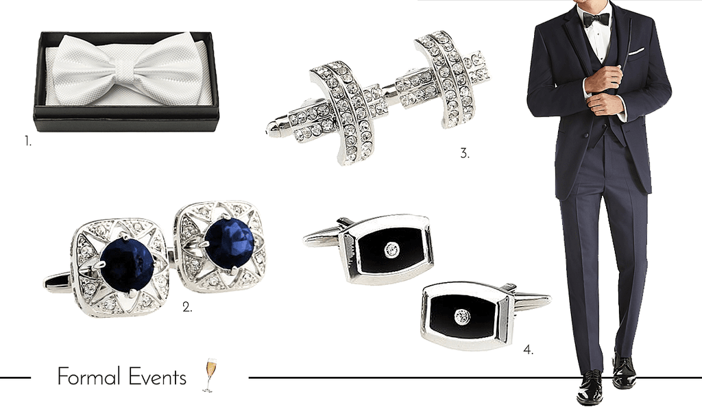 Mens Cufflinks and Accessories for Formal Occasions