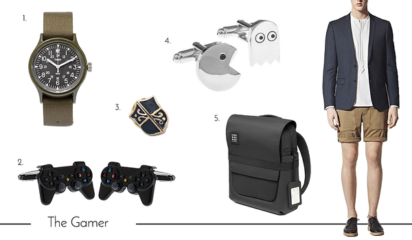 Cufflinks and Accessories for the Gamer Dad