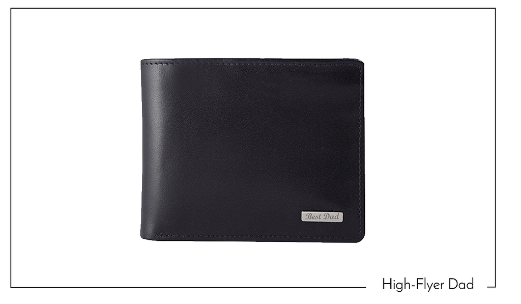 Black RFID Protection Leather Wallet - Wachterlein