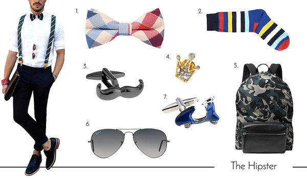 Cufflinks and Accessories for the Hipster Dad