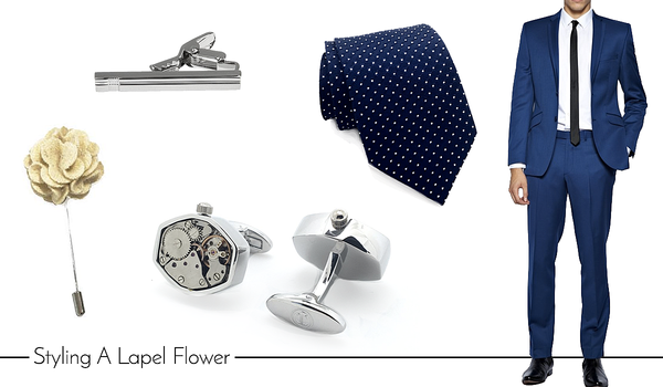 Men's Cufflinks and Accessories for Smart Casual Events