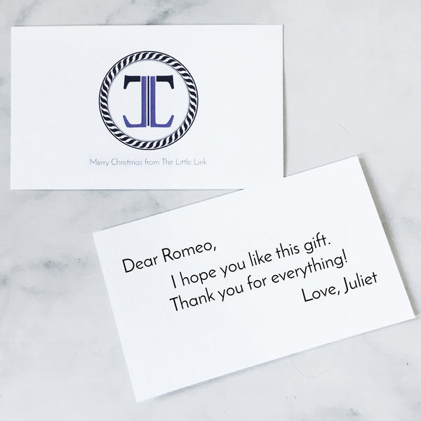 Gift Card and Note