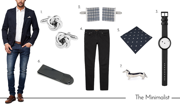 Cufflinks and Accessories for the Minimalist Dad