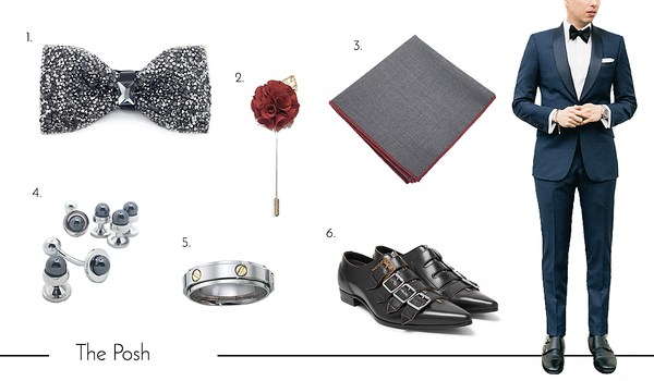 Cufflinks and Accessories for the Posh Dad