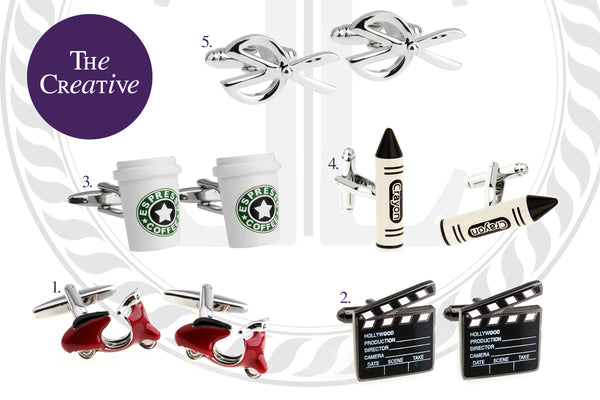 Cufflinks for the Creative Guy