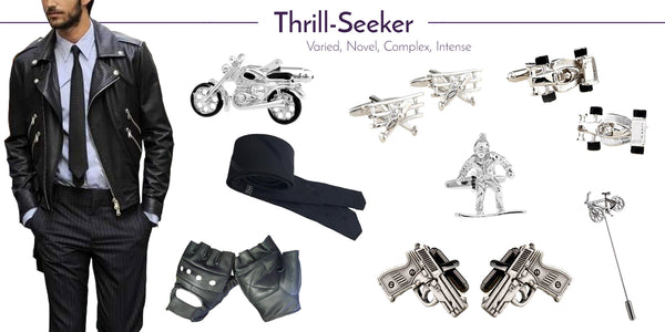 Wedding Cufflinks and Accessories for the Thrill Seeker