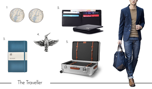Cufflinks and Accessories for the Traveler Dad
