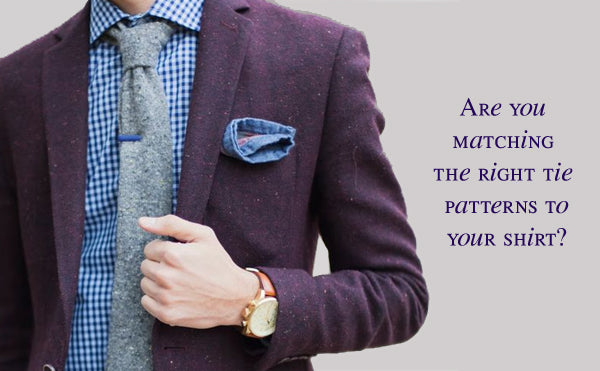 Match the Right Tie Patterns to Men's Shirts