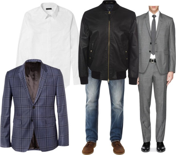 Mens Collared Shirts and Suits
