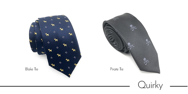 Men's novelty casual neckties