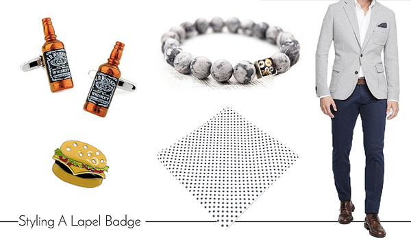Men's Cufflinks and Accessories for Happy Hour