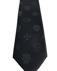 black custom ties