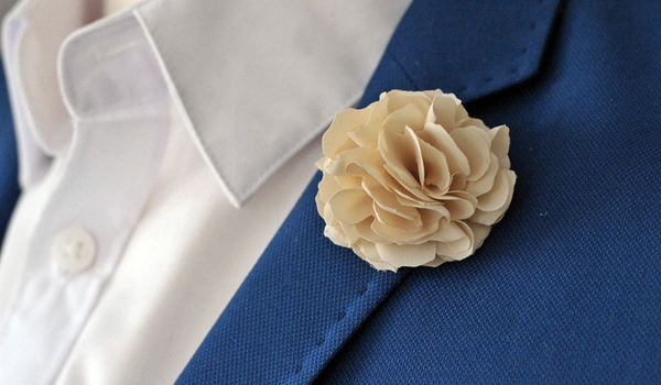 Lapel Pins and Boutonnieres - Lapel Flower