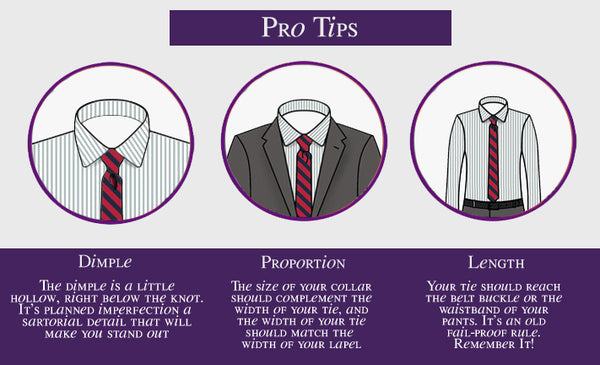 Pro Tips - Matching the Right Tie Patterns to Men's Work Shirts